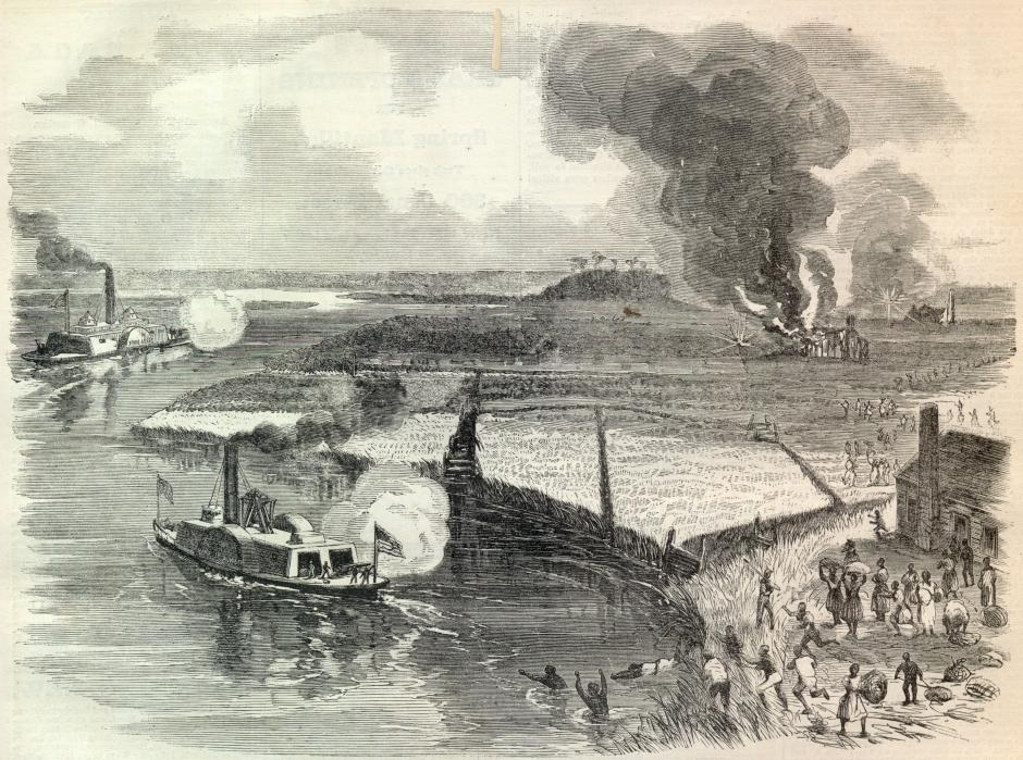 Montgomery's Raids on the Combahee River Plantations