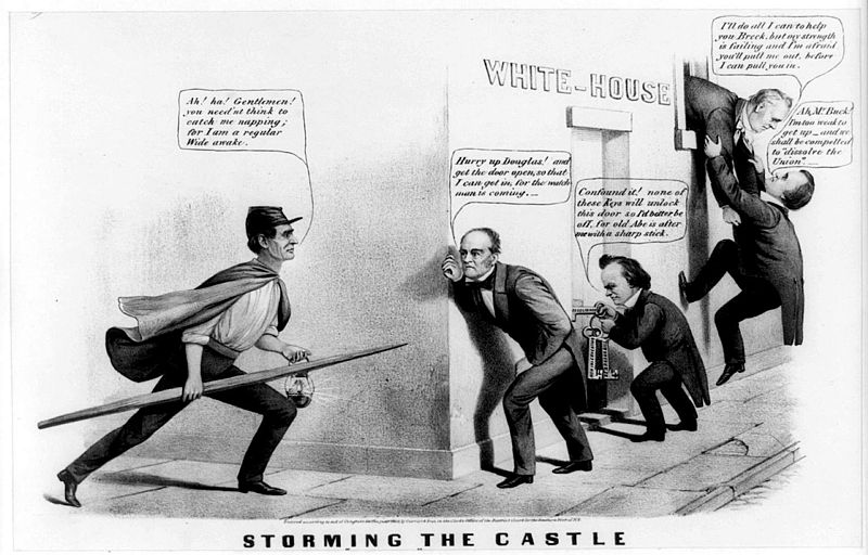 Five Conventions, Four Candidates, and Three Parties: Chaos before the Election of 1860