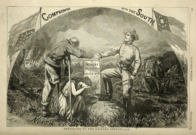 From Santa to the Civil War:  Fiona Deans Halloran on the Political Cartoons of Thomas Nast