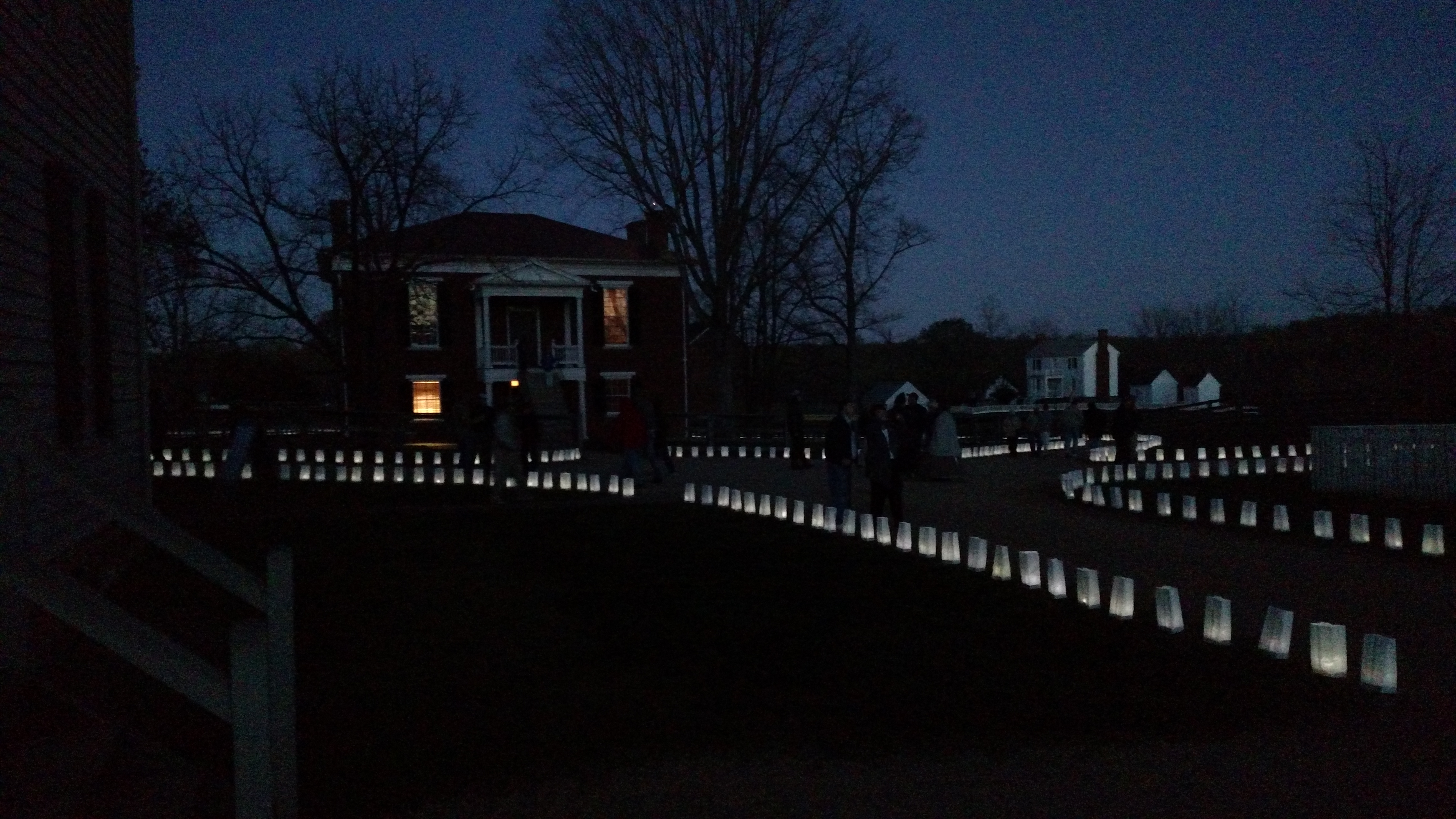 Courthouse and luminaries